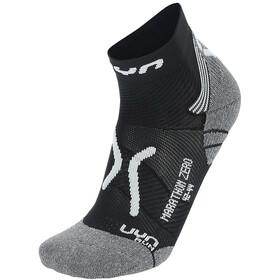 UYN Run Marathon Zero Calcetines Hombre, black/white/grey